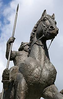 PORTRAIT OF KING BÉLA IV - CO-CREATOR TÓTH BÉLA - SZEGED 2010_3