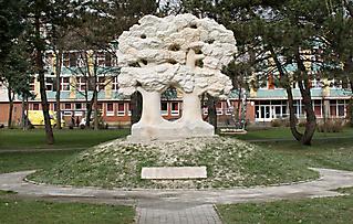 MONUMENT OF POLISH-HUNGARIAN FRIENDSHIP - GYŐR 2006_2