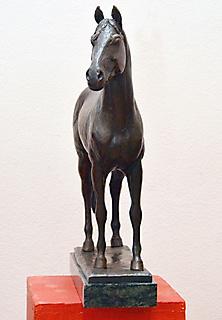 HORSE SCULPTURE OF KISBÉR_3